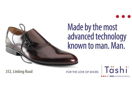 Tashi footwear chain Tata International Gyaniz