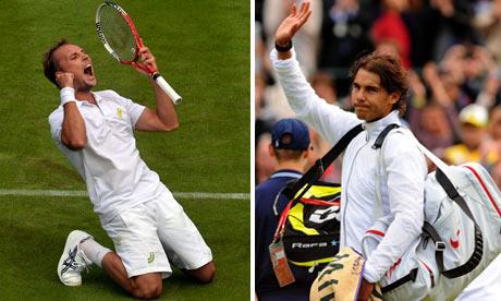 Steve Darcis and Rafael Nadal